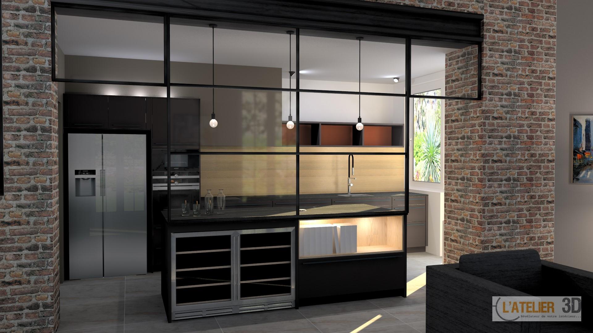 2017 tendances verri res et escaliers hagane. Black Bedroom Furniture Sets. Home Design Ideas