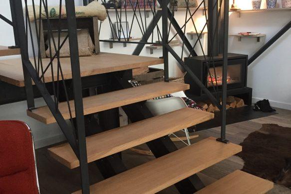 Fabricant d'escalier acier