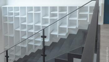 Un escalier acier pour un particulier