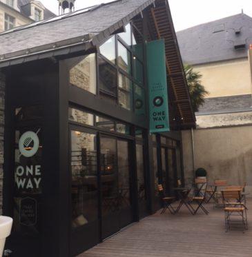 Un escalier de caractère sur-mesure pour la galerie One Way à Angers.